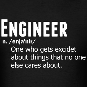 Engineer Noun T-Shirts - Men's T-Shirt
