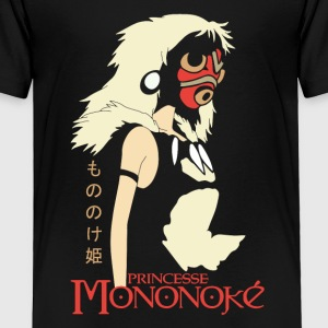 Princess Mononoke Hime Anime - Toddler Premium T-Shirt