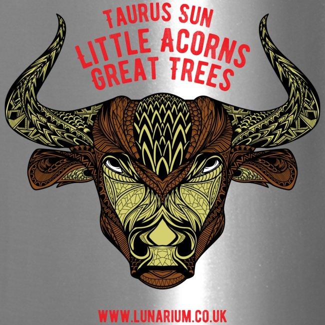 Taurus Sun Travel Mug