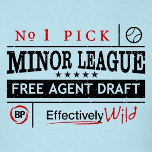 Minor League Free Agent - Men's T-Shirt - Men's T-Shirt