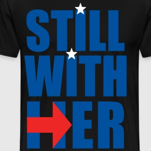 still with her - Men's Premium T-Shirt