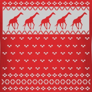 UGLY GIRAFFE CHRISTMAS SWEATER, UGLY, CHRISTMAS, S - Men's T-Shirt