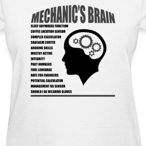 Mechanic's Brain - Women's T-Shirt