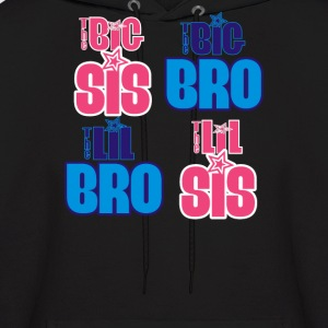 Big or Little Bro or Sis - Men's Hoodie