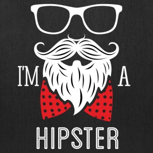 I'm a Hipster (dark) Bags & backpacks - Tote Bag