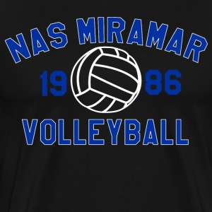 Top Gun - Nas Miramar Volleyball T-Shirts - Men's Premium T-Shirt
