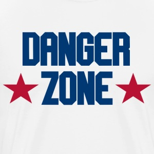 Top Gun - Danger Zone T-Shirts - Men's Premium T-Shirt