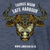 Taurus Moon Fitted Cotton/Poly T-Shirt by Next Level - Fitted Cotton/Poly T-Shirt by Next Level