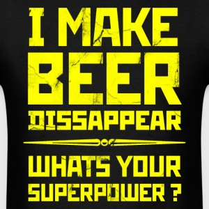 Beer Superpower. T-Shirts - Men's T-Shirt