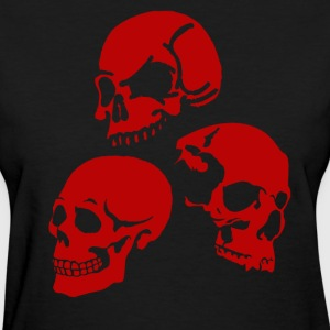 Red Skulls. T-Shirts - Women's T-Shirt