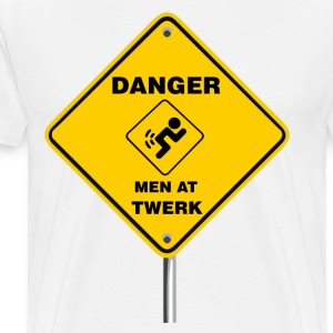 Men at TWERK! - Men's Premium T-Shirt