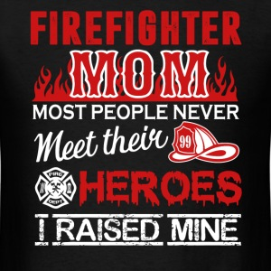 Firefighter Mom Shirt - Men's T-Shirt