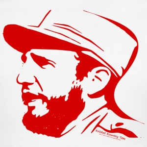 Fidel Castro in Red T-Shirts - Men's Ringer T-Shirt