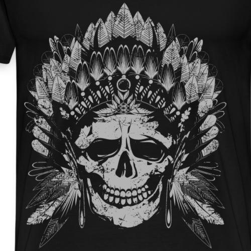 Chief Skull Gray