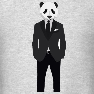 Panda In A Suit - Men's T-Shirt