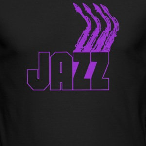 JAZZ SAXOPHONE - Men's Long Sleeve T-Shirt by Next Level