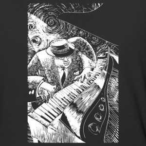 Jazz Piano - Baseball T-Shirt
