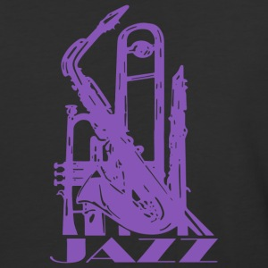 Jazz Music Art - Baseball T-Shirt