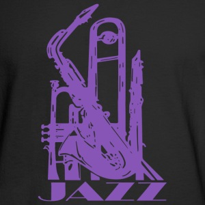 Jazz Music Art - Men's Long Sleeve T-Shirt