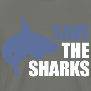 Save the sharks T-shirts & Hoodies - Men's Premium T-Shirt