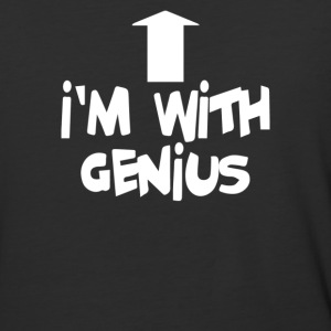 I'm With Genius - Baseball T-Shirt