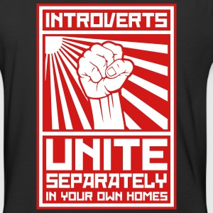 Introverts_unite_separately_in_your_own_ T-Shirts - Baseball T-Shirt
