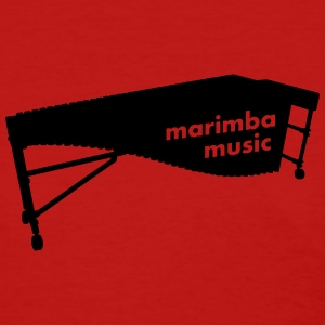 Marimba Music 2 outline T-Shirt (Women) - Women's T-Shirt