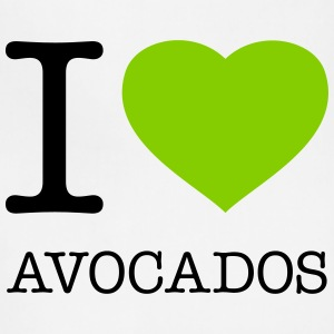 I LOVE AVOCADOS - Adjustable Apron