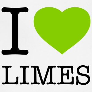 I LOVE LIMES - Adjustable Apron