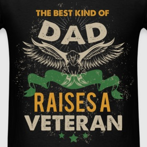 The best kind of mam rises a veteran - Men's T-Shirt
