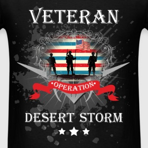 Veteran operation desert storm - Men's T-Shirt