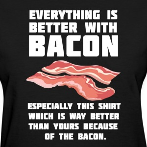 Bacon T-Shirts - Women's T-Shirt