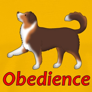 Obedience AS Fuß T-Shirts - Men's Premium T-Shirt