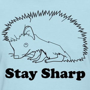 Stay Sharp (hedgehog) T-Shirts - Women's T-Shirt