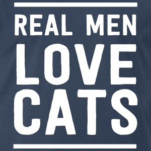 Real me love cats T-Shirts - Men's Premium T-Shirt