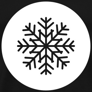 Snowflake Patch T-Shirts - Men's Premium T-Shirt