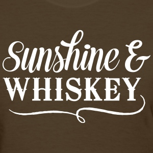 Sunshine and Whiskey T-Shirts - Women's T-Shirt