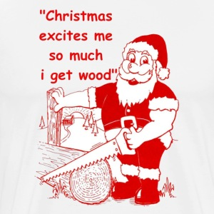 Christmas-excites - Men's Premium T-Shirt