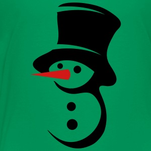 Snowman with big hat Kids' Shirts - Kids' Premium T-Shirt