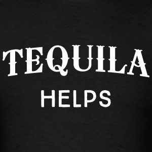 Tequila Helps T-Shirts - Men's T-Shirt