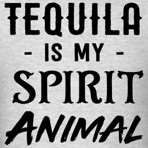 Tequila is my spirit animal T-Shirts - Men's T-Shirt