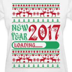 NEW YEAR 2017 IS LOADING T-Shirts - Women's T-Shirt