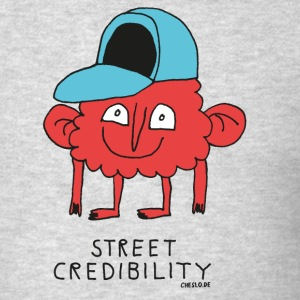 Street Credibility by Cheslo - Men's T-Shirt
