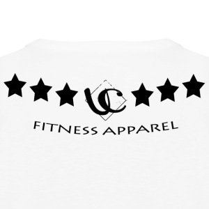 UC Fitness Apparel Stars Bottom Black - Men's Premium Tank