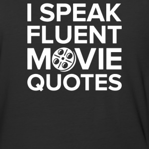 I Speak Movie - Baseball T-Shirt