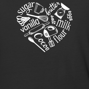 I Love Baking - Baseball T-Shirt