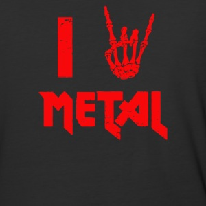 I Heart Metal - Baseball T-Shirt