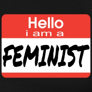 Hello I Am A Feminist T-Shirts - Men's Premium T-Shirt