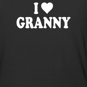 I HEART GRANNY - Baseball T-Shirt
