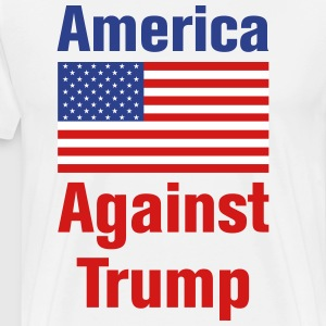 America Against Trump - Men's Premium T-Shirt